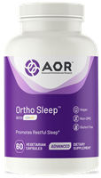 AOR Ortho Sleep with Melatonin,GABA,Valerian root- 60 vegi-cap