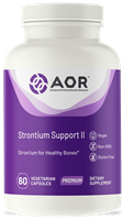 AOR Strontium Support II for Bone health, 60 V caps