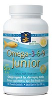 Nordic Naturals Omega 3-6-9 Junior - 180 softgels