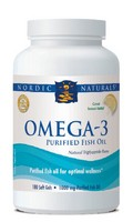 Nordic Naturals Omega-3 Pure Fish Oil (Twin pack of 180 sg)-360 softgels