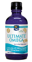 Nordic Naturals Ultimate Omega Xtra Liquid with Vitamin D3-Lemon, 8 oz