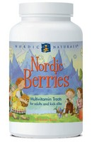 Nordic Naturals Nordic Berries Allergen Free Multi - 120 chewables