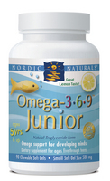 Nordic Naturals Omega 3-6-9 Junior - 90 softgels