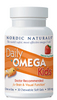 Nordic Naturals Daily Omega Kids, 30 softgels- Strawberry