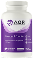 AOR Advanced B Complex-vitamin B1,B6,B12- 90 Vcaps
