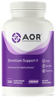 AOR Strontium Support II for Bone health, 120 V caps
