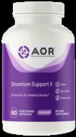 AOR Strontium Support II for Bone health, 60 V caps