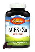 Carlson ACES + Zn - Vitamin A, C, E with Selenium + Zinc, 180 softgels
