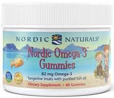 Nordic Naturals Nordic Omega-3 Gummies - 60 tangerine chewables