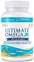 Nordic Naturals Ultimate Omega Junior, 90 softgels- Strawberry