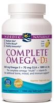 Nordic Naturals Complete Omega -D3 - 120 softgels