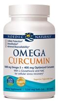 New! Nordic Naturals Omega Curcumin-60softgels