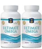 Nordic Naturals Ultimate Omega - 240 softgels (Twin Pack of 120 softgels)