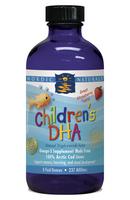 Nordic Naturals Children's DHA Liquid - 8 oz