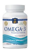 Nordic Naturals Omega-3 Pure Fish Oil - 60 softgels