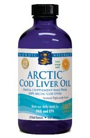 Nordic Naturals Arctic Cod Liver Oil Orange - 8 fl oz